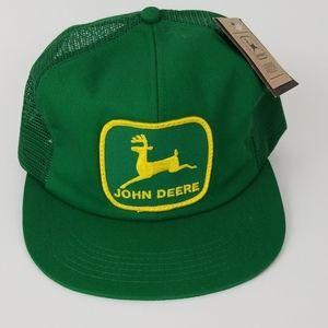 John Deere Trucker Mesh Adjustable Snapback Cap